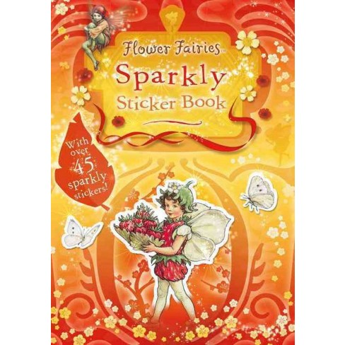 Flower Fairies Sparkly Sticker Book - by  Cicely Mary Barker (Paperback) - image 1 of 1