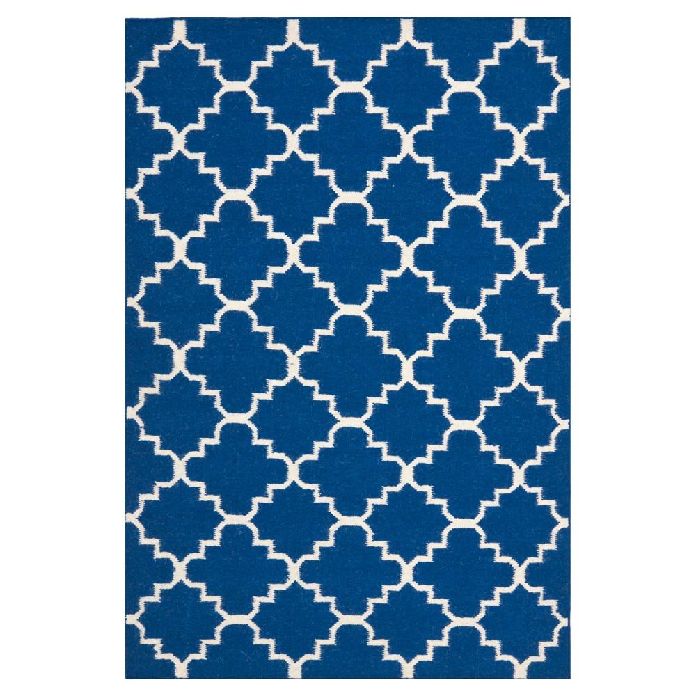 Reviews Sabine Dhurry Rug - Dark Blue - (3x5) - Safavieh
