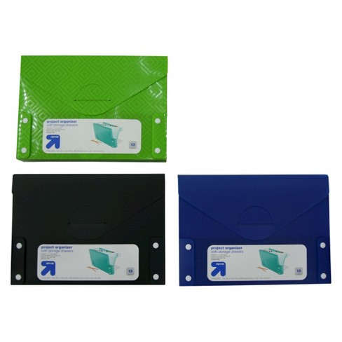 13-Pocket with Pencil Case Expandable File Folders - Up&Up™ - image 1 of 3