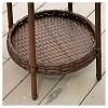 Phaedra 2pc Wicker Bucket Set - Brown - Christopher Knight Home - image 3 of 4