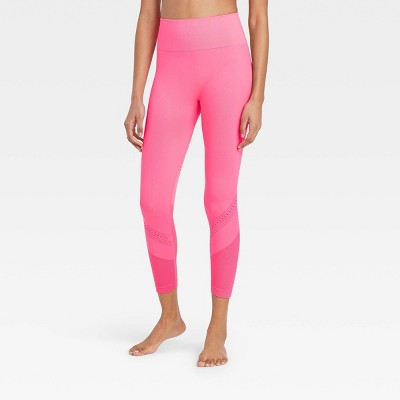 Women's High-Rise Seamless 7/8 Leggings - JoyLab™