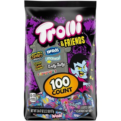 Trolli & Friends Halloween Candy Variety Pack - 34.47oz/100ct