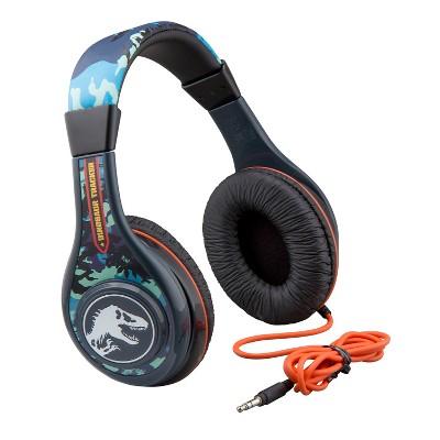 eKids Jurassic World Wired Headphones -  (JW-140.EXV8M)