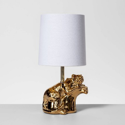 Brass Cheetah Table Lamp Gold (Includes Energy Efficient Light Bulb)- Opalhouse™