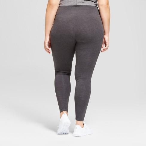 ebb6d1029ec394 Women's Plus-Size Cotton Spandex Leggings - C9 Champion® - Dark Gray  Heather 2X : Target