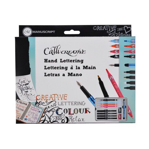 Calli Creative Hand Lettering Kit 14pc - Manuscript - image 1 of 3