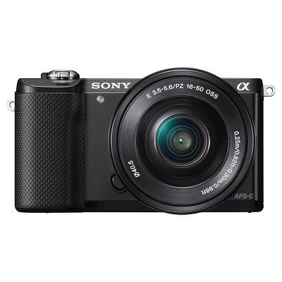 Sony Mirrorless Camera A5000   Black (Ilce5000 L/B) by Sony