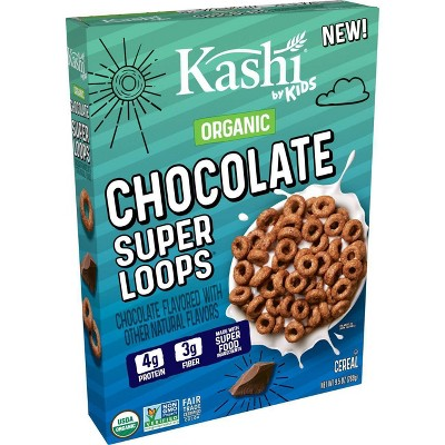 Kashi Kids' Super Loops Chocolate Cereal - 9.5oz