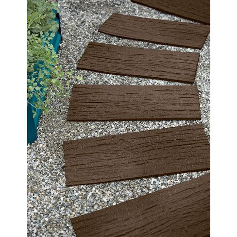 Gardener's Supply Company Recycled Rubber Railroad Tie Stepping Stone - Gardener's Supply Company - image 1 of 2