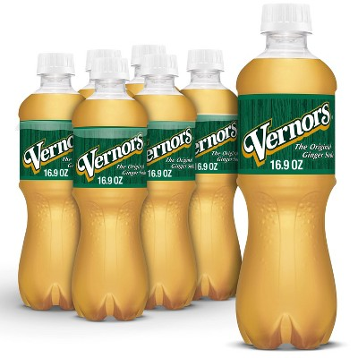 Vernors Ginger Soda - 6pk/0.5 L Bottles