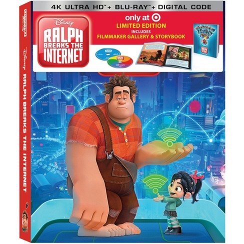Ralph Breaks the Internet (4K/UHD) (Target Exclusive) - image 1 of 3