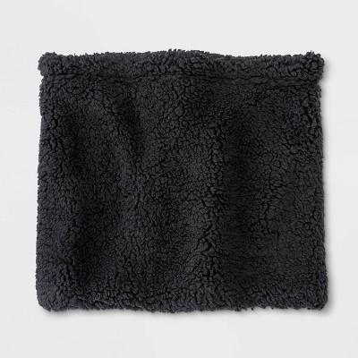 Men's Sherpa Neck Warmer - Goodfellow & Co™ Black One Size