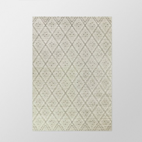 Diamond Outdoor Rug Gray - Smith & Hawken™ - image 1 of 2