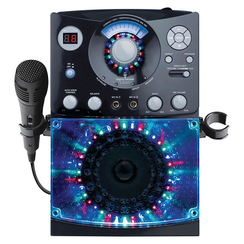 Singing Machine SML385 Top LoadingCDG Player with Disco Light Effect - image 1 of 4