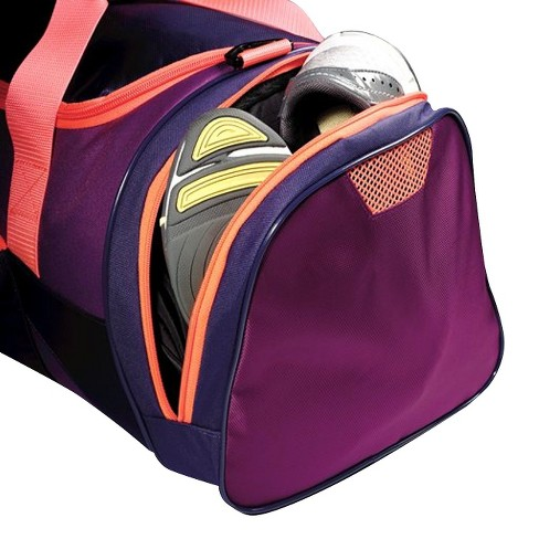 7a447d0252 Reebok Slim Duffel Bag - Purple   Target