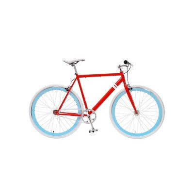 "Sole Bicycles The OFW II Single Speed 29"" Road Bike - Red"