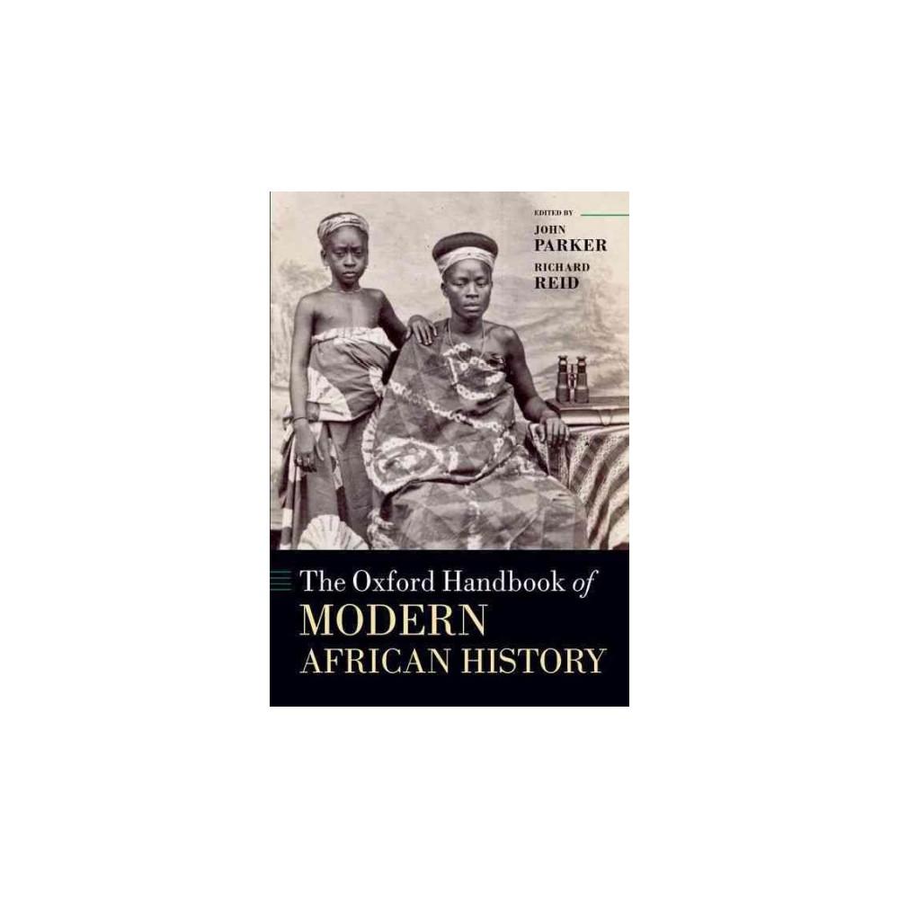 Oxford Handbook of Modern African History (Reprint) (Paperback)