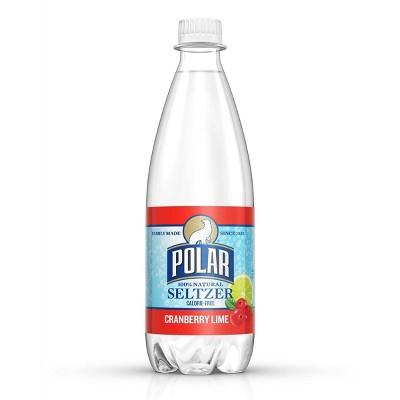 Polar Seltzer Water Cranberry Lime - 20 fl oz Bottle