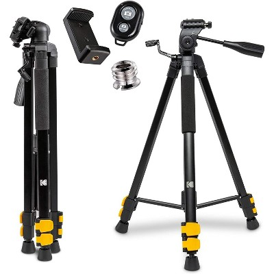 """KODAK PhotoGear 62"""" Tripod with Remote 