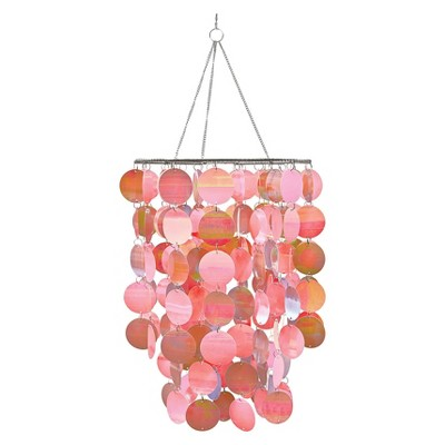 WallPops!® Chandelier Pearlscent - Pink/Gray
