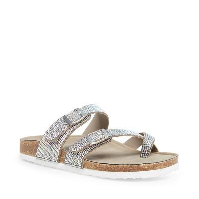 Madden Girl Slide-On Bryceee-R Footbed Sandal