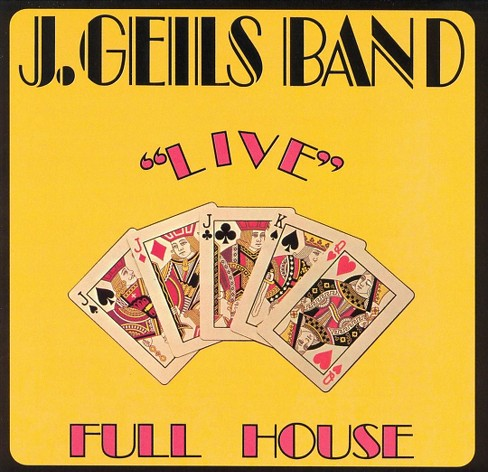 J. band geils - Live full house (Vinyl) - image 1 of 1