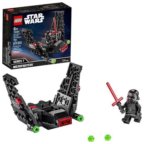 LEGO Star Wars Kylo Ren's Shuttle Microfighter Star Wars Upsilon Class Shuttle Building Kit 75264 - image 1 of 4