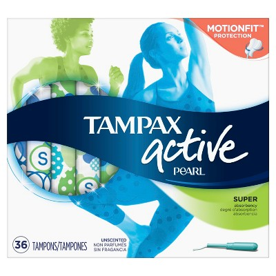 Tampons: Tampax Active Pearl