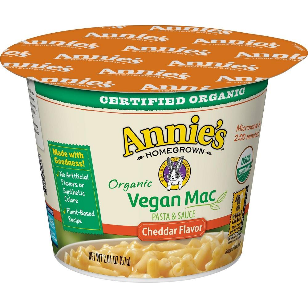 Annie 39 S Vegan Microwave Mac 38 Cheese 2oz