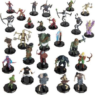 "Monster Protectors Painted Fantasy Mini Figures for D&D - 1"", 28 Pieces"