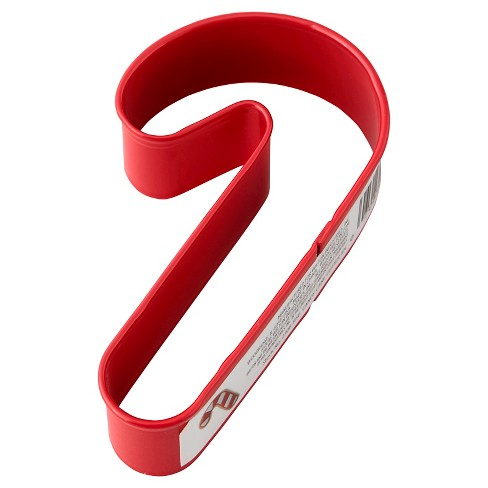 Wilton Candy Cane Open Stock Cookie Cutter - image 1 of 6