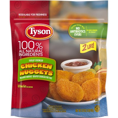 Tyson All Natural All Natural Chicken Nuggets - Frozen - 32oz