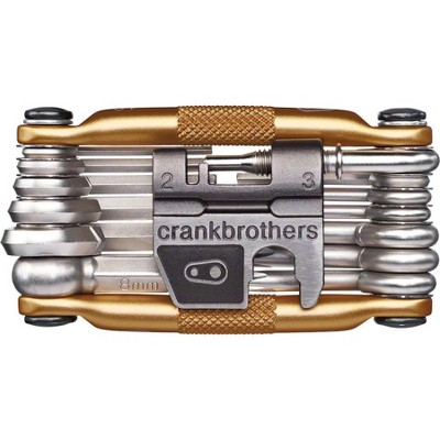 Crank Brothers Multi-19 Bike Multi-Tool - Gold