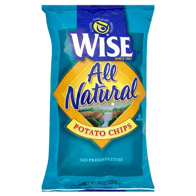 Wise All Natural Potato Chips - 10oz