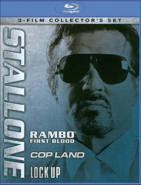 Stallone: Rambo - First Blood/Cop Land/Lock Up [3 Discs] [Blu-ray] - image 1 of 1