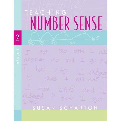 Teaching Number Sense, Grade 2 - by  Susan Scharton (Paperback) - image 1 of 1