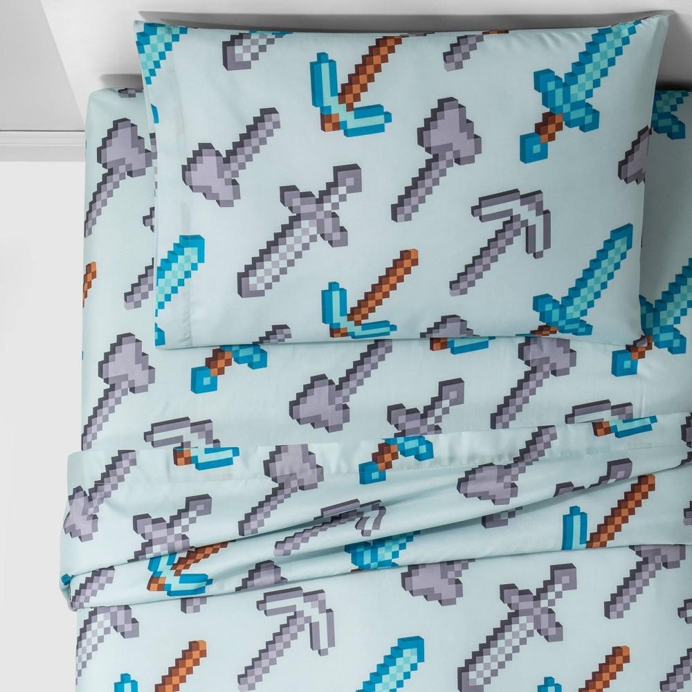 Image of Minecraft Full Isometric Sheet Set Gray