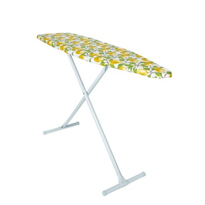 Juvale Ironing Board Cover and Pad, Lemon Print Design (15 x 54 Inches)