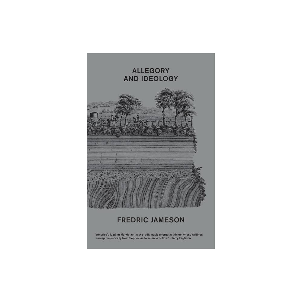 Allegory And Ideology By Fredric Jameson Paperback
