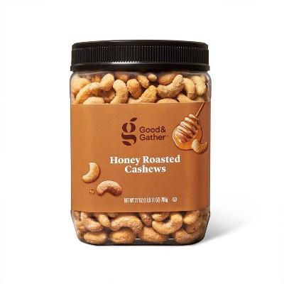 Honey Roasted Cashews - 27oz - Good & Gather™