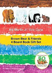 Brown Bear & Friends Gift Set (Hardcover)(Jr. Bill Martin)