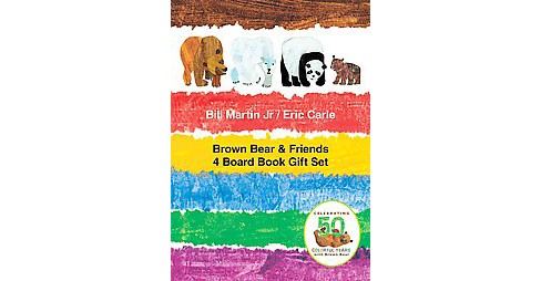 Brown Bear & Friends Gift Set (Hardcover) (Jr. Bill Martin) - image 1 of 1