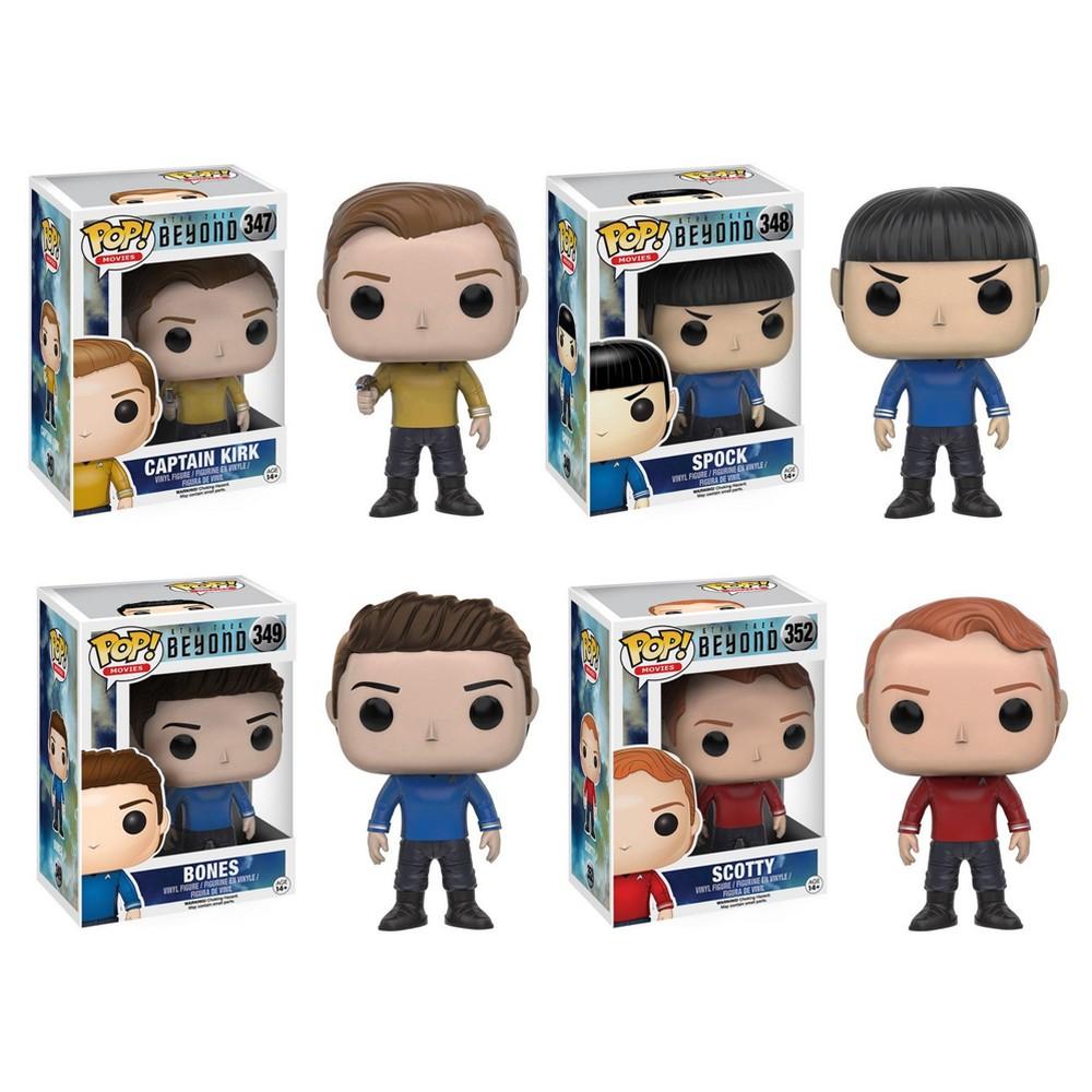 Funko Star Trek: Pop! Star Trek Beyond Collectors Set; Kirk, Spock, Bones, Scotty