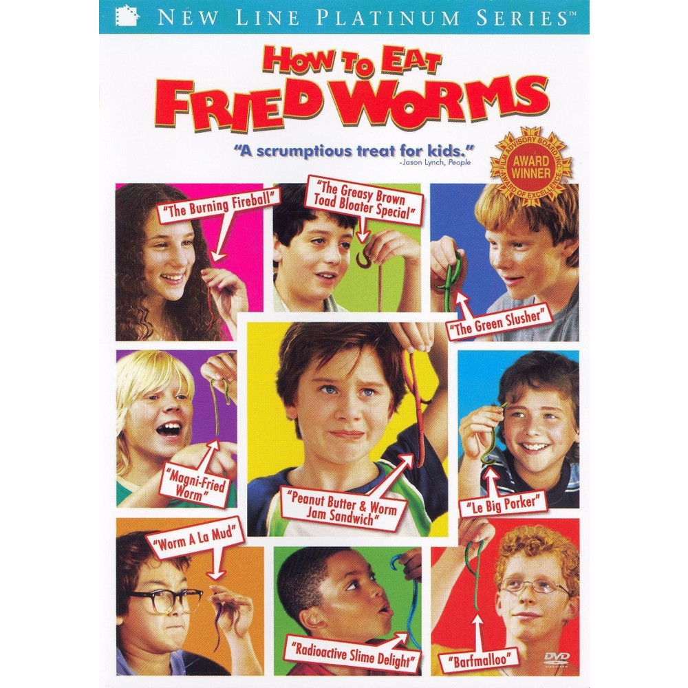 How to Eat Fried Worms (WS/P&s) (dvd_video)