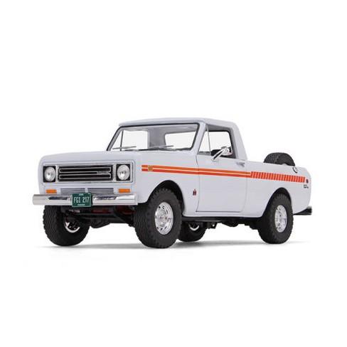 1979 International Scout Terra Pickup Truck White / Orange Spear 1/25 Diecast Model Car by First Gear - image 1 of 4