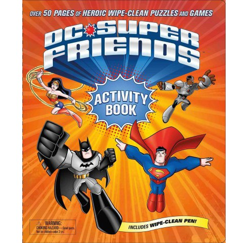 DC Super Friends Activity Book (Paperback) - image 1 of 1