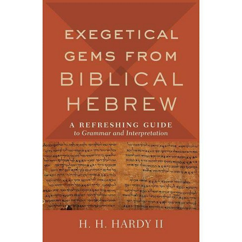 Exegetical Gems from Biblical Hebrew - (Hardcover) - image 1 of 1
