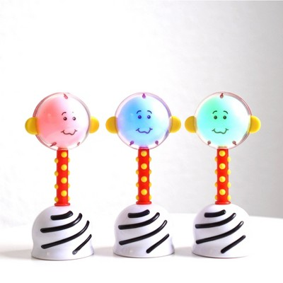 SmartNoggin NogginStik Developmental Light-up Rattle and Parent Guide