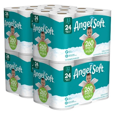 Angel Soft Toilet Paper - 48 Double Rolls