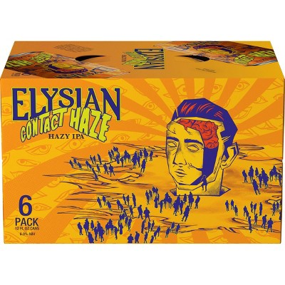 Elysian Contact Haze IPA Beer - 6pk/12 fl oz Cans